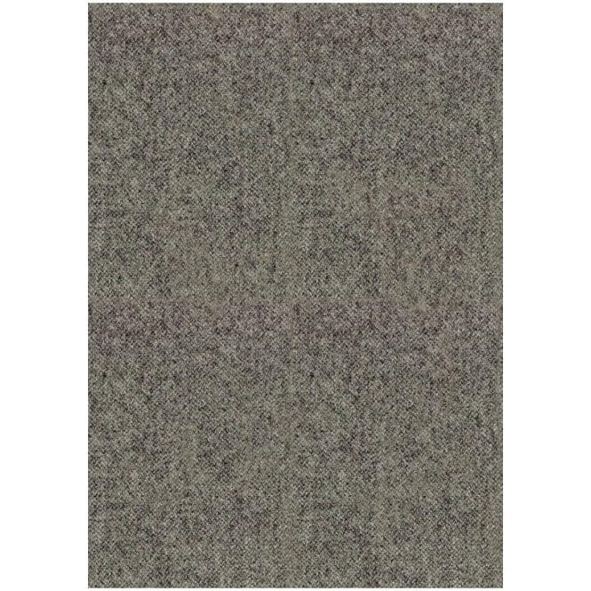 Art Of The Loom Wool Throw Plain Slate Grey