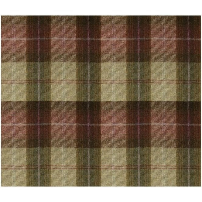 Art Of The Loom Wool Throw Wool Plaid Autumn Berry