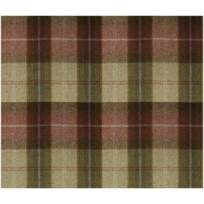 Wool Throw Wool Plaid Autumn Berry