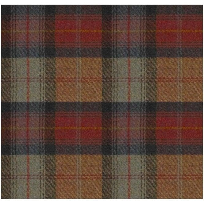 Art Of The Loom Wool Throw Wool Plaid Orchard Fruit