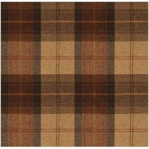 Wool Throw Wool Plaid Rosehip Wine