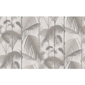 Palm Jungle Stone/Taupe Wallpaper