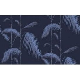 Palm Leaves Ink/Violet Wallpaper