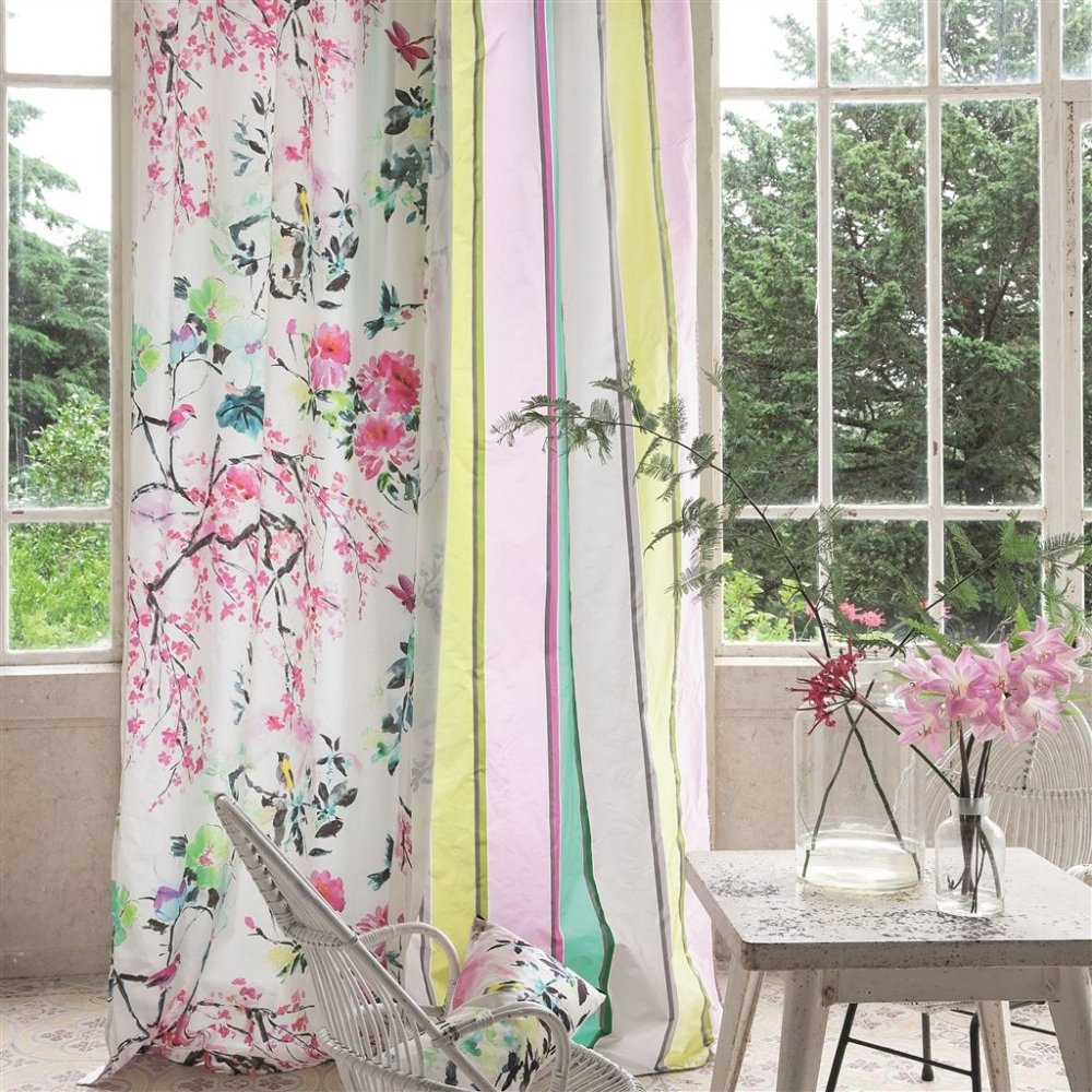 Chinoiserie flower peony by designers guild at eden fabrics