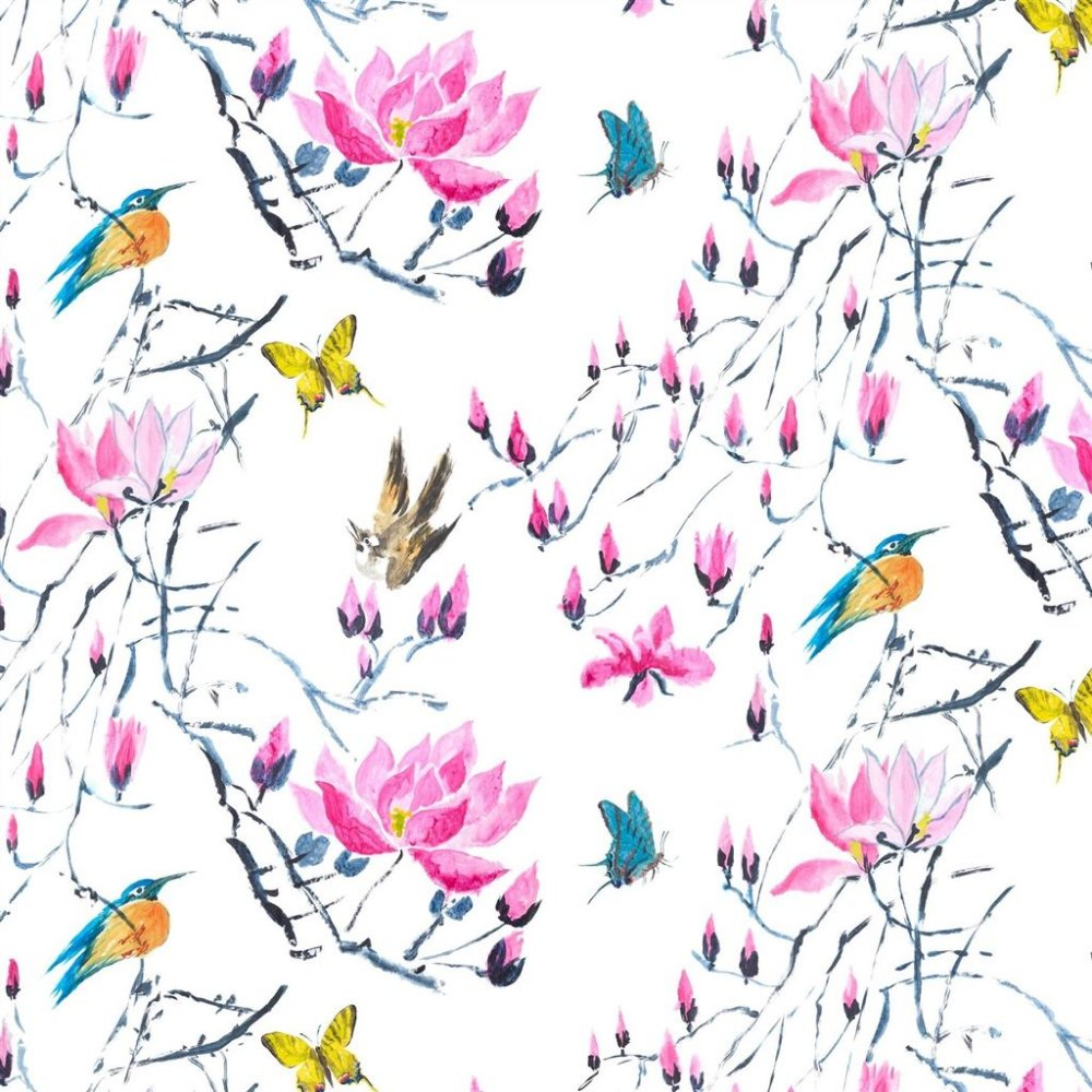 Madame Butterfly Peony By Designers Guild At Eden Fabrics