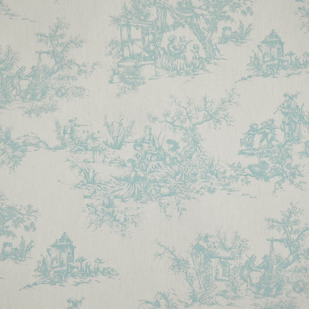 Light purple bedding - Duck Egg Blue Amp Vanilla Toile De Jouy By Eden Mill From