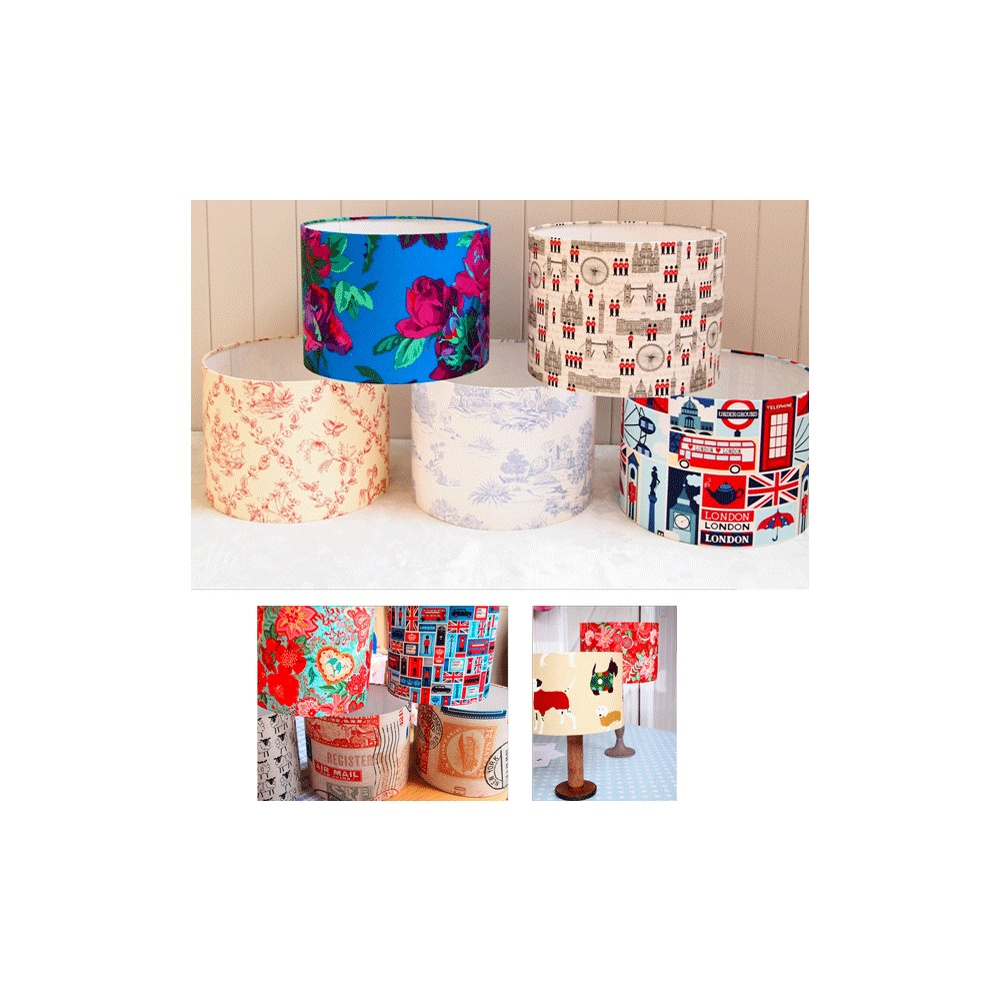 30cm Drum Lampshade Making Kit At Eden Fabrics