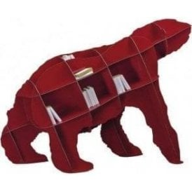 Bear Bookcase - Joe Red