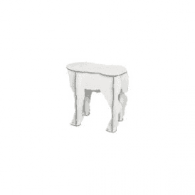 Lamb Stool - Scotty White