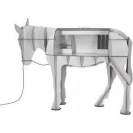 Maturin Donkey Desk Matt Grey