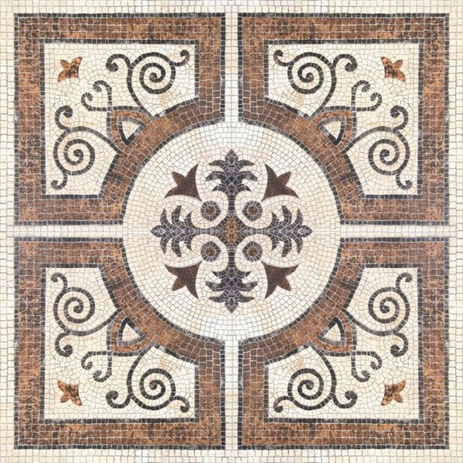 Mind The Gap Byzantine Tile Wallpaper