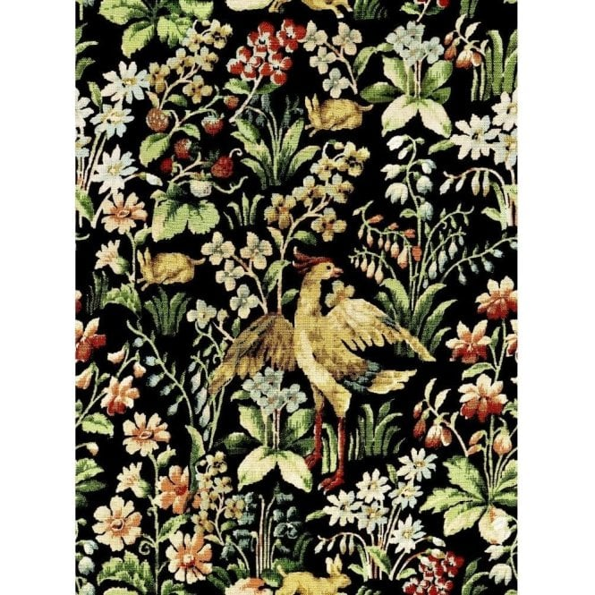 Mind The Gap Floral Tapestry Wallpaper