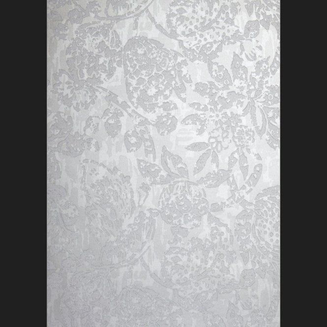 Prestigious Textiles Azule Platinum Beaded Wallpaper